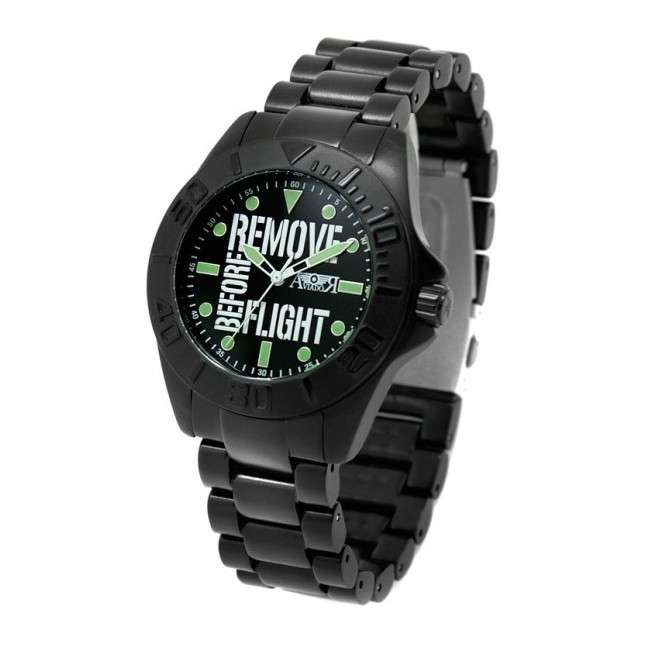 Reloj Aviador Remove Before Flight Young AV-1125