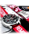 Reloj Aviador RBF First Edition y pulsera RBF magenta