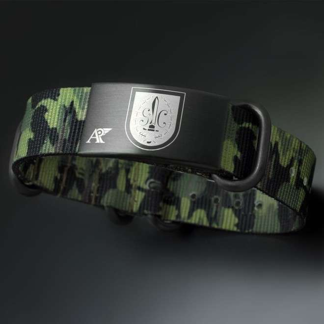Pulsera Guardia Civil de camuflaje marrón AV-PUL-1005