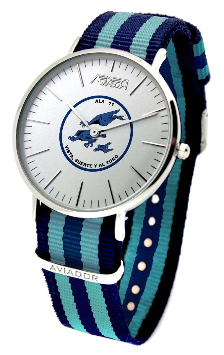 Reloj AVIADOR Emblema EDA Ala 11 AV-1151