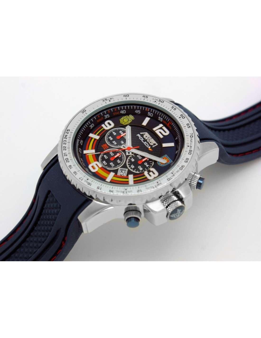 7249a9699f50 Reloj AVIADOR Homenaje a la Policia UIP AV-1106