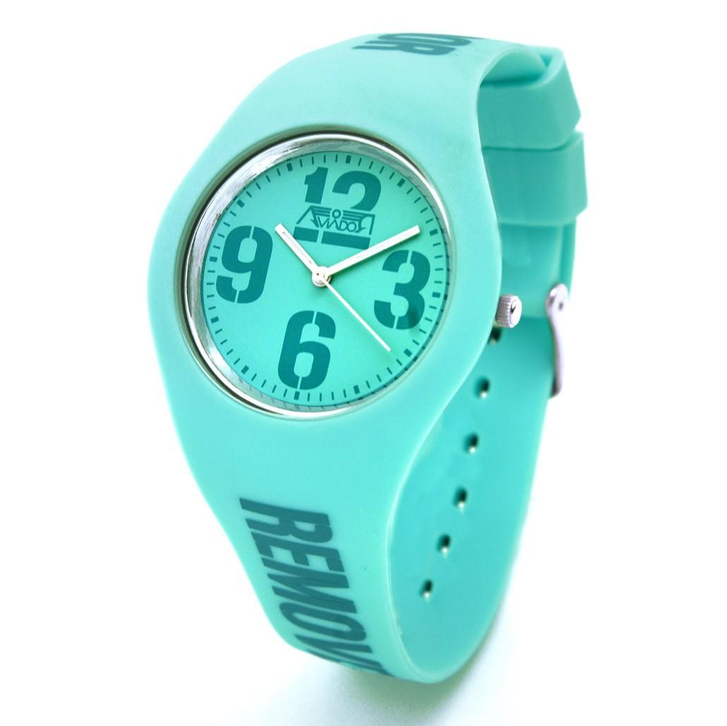 Reloj AVIADOR RBF Silicona AV-1190 Azul Aguamarino