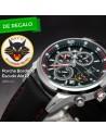 Reloj AVIADOR RBF ALA 12 AV-1060-1WP + Parche con Escudo Bordado ALA 12