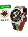 Reloj AVIADOR RBF ALA 12 AV-1060-1CA + Parche con Escudo Bordado ALA 12