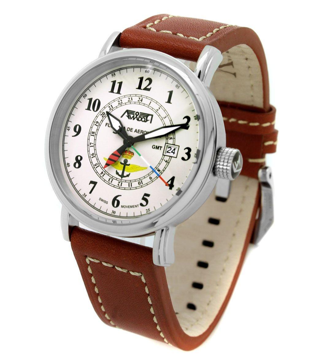 Reloj AVIADOR Flotilla de Aeronaves AV-1199-PM