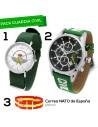 Reloj Guardia Civil RBF + Reloj Emblema + Correa España