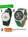 Reloj Guardia Civil + Reloj Emblema + Correa España