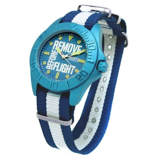 Reloj AVIADOR RBF Remove Before Flight Young Aluminium AV-1123-1 Azul