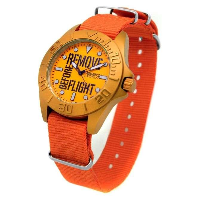 Reloj AVIADOR RBF Young Aluminium AV-1124-1 Naranja