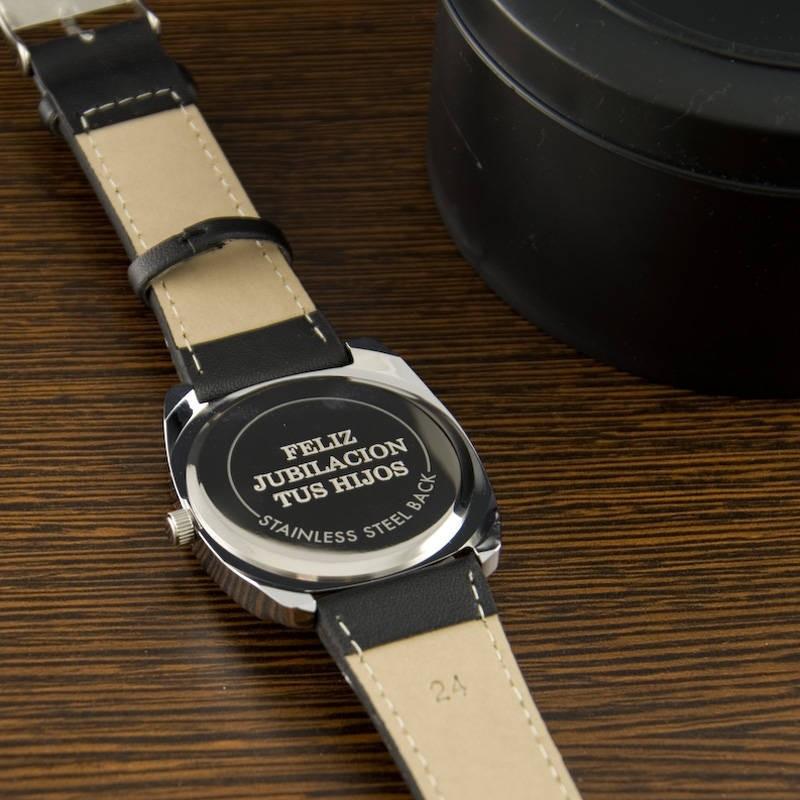 Grabado de reloj