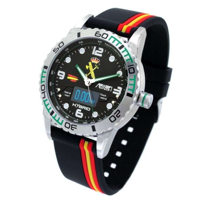 Reloj Aviador Hybrid Guardia Civil AV-1240-5-B