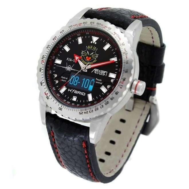 Reloj Aviador Hybrid Patrulla Ala 12 AV-1240-12
