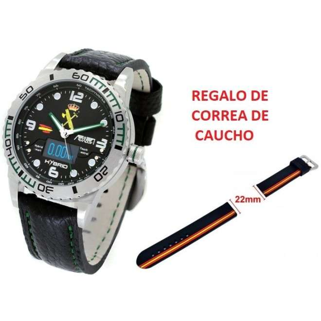 Reloj Aviador Hybrid Guardia Civil AV-1240-5