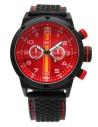 Reloj AVIADOR Con Bandera de España Rojo New RBF-1002 ✔️Pago Seguro ✔️2 Años de Garantía