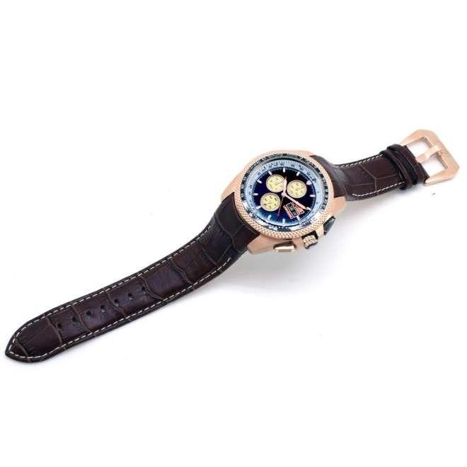 Correa AVIADOR marron 22-24mm para reloj Universo y 75 Aniversario AV-1077 ✔️Pago Seguro