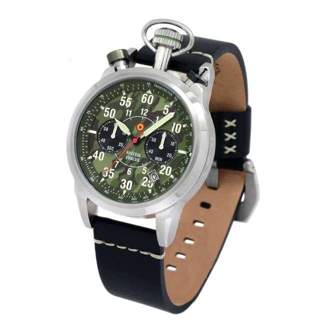 Reloj Aviador Special Forces AV-1102-PN