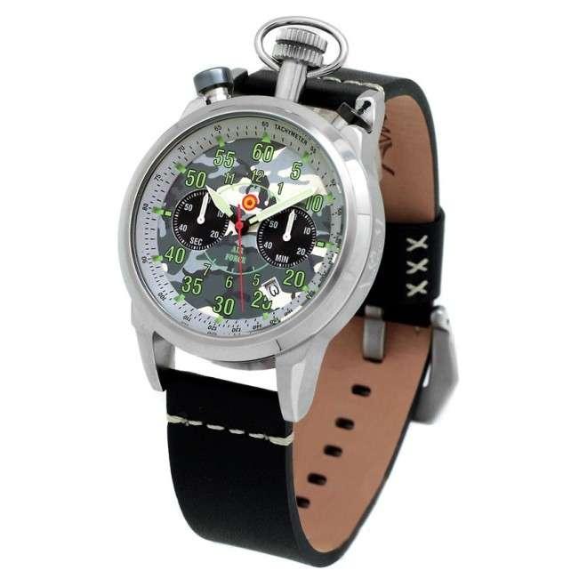 Reloj Aviador Special Forces AV-1104-PN