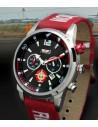 Reloj Aviador RBF T-21 AV-1090-8 de color rojo esfera negra reloj de piloto transporte militar