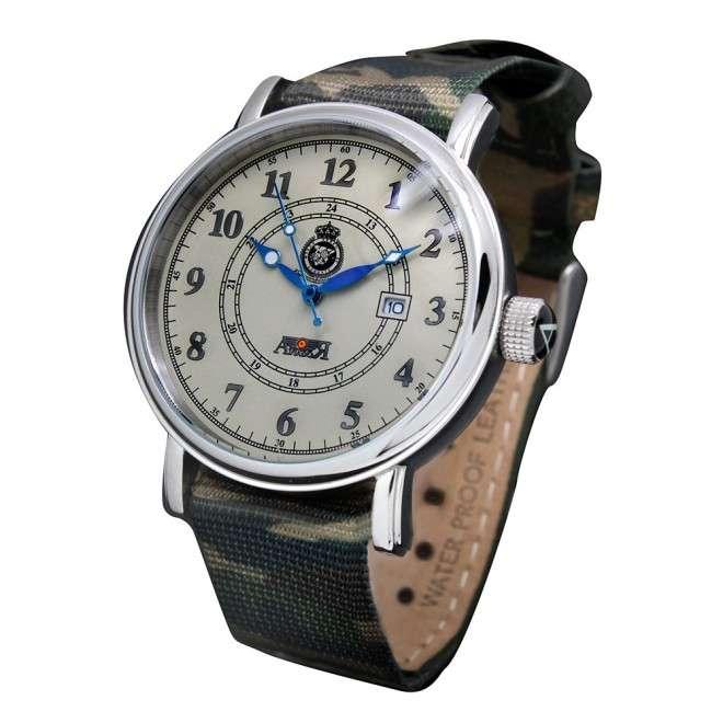 Reloj Aviador MACOM AV-1086-CA camuflaje de piloto