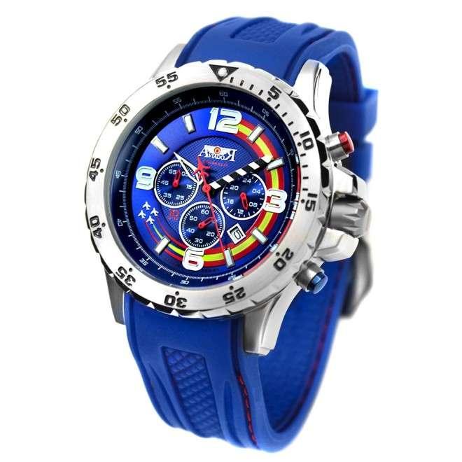 Reloj Aviador Patrulla Ascua AV-1029 azul de piloto