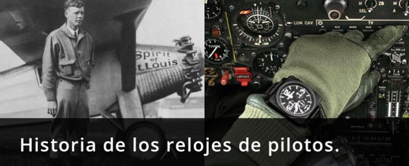 Historia de los relojes de piloto
