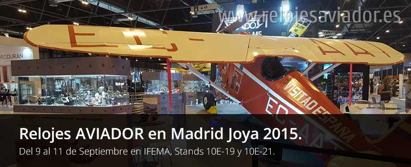 Relojes AVIADOR Madrid Joya 2015 IFEMA