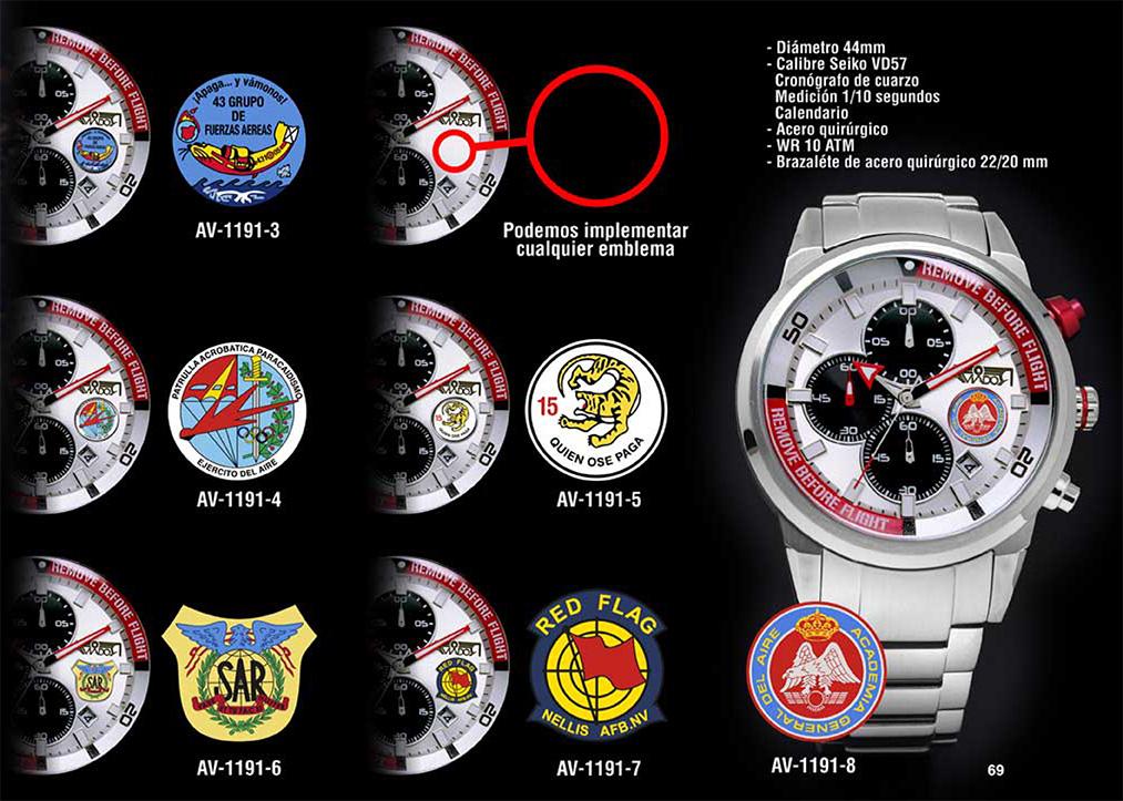Relojes De Piloto Personalizados | Relojes AVIADOR Watch