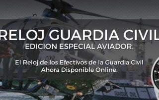 Reloj de Guardia la Civil de AVIADOR Watch. Autorizado por la Guardia Civil.
