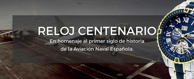 Reloj de la Aviación Naval Española. Cien años de Aviación Naval Española en la Muñeca