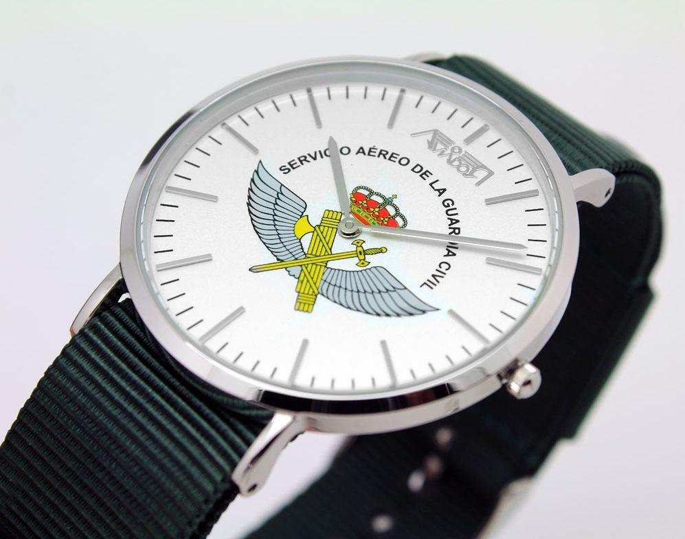 Reloj Aviador Reloj AVIADOR Emblema del Servicio Aéreo de la Guardia Civil AV-1159