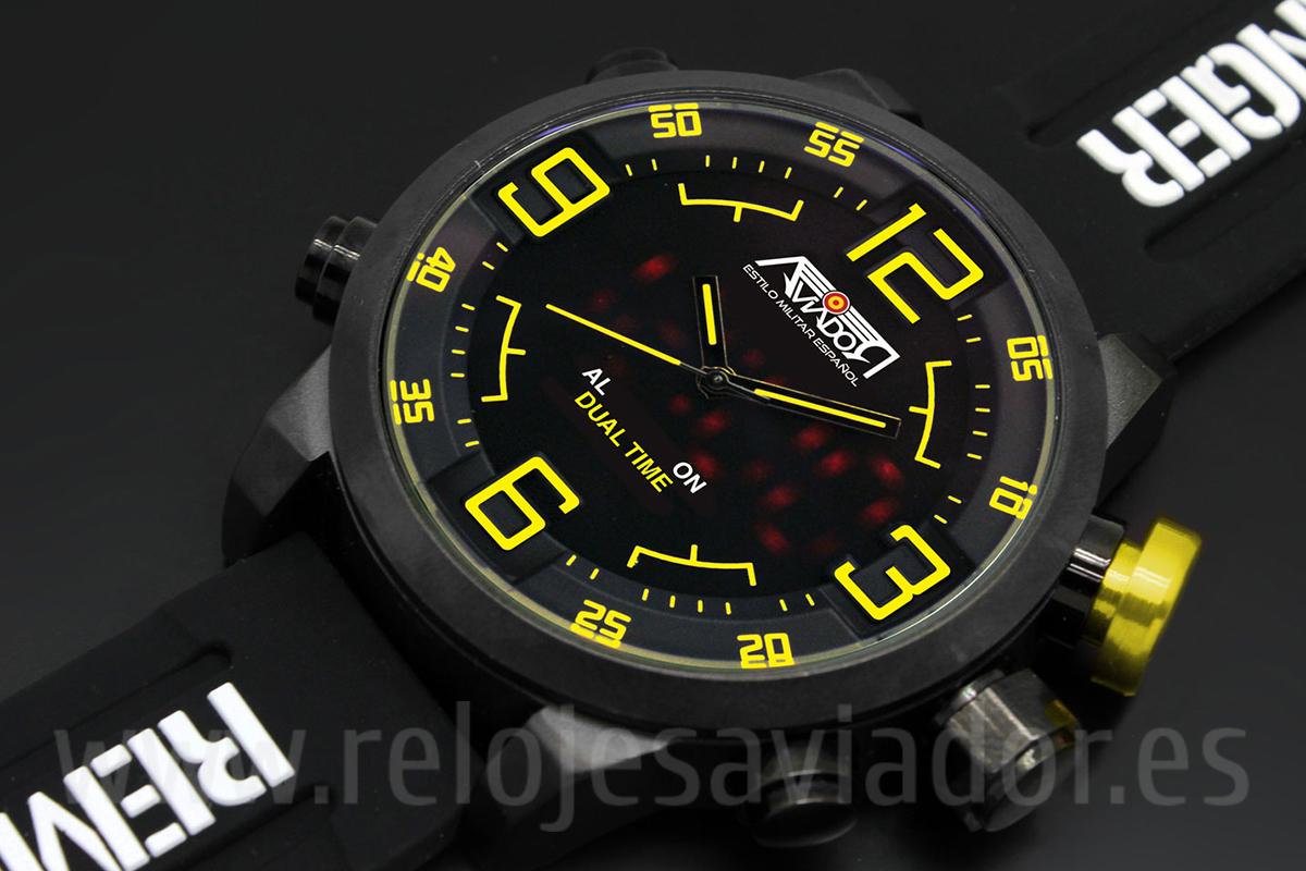Reloj AVIADOR Osprey AV-1166-1 | AVIADOR Watch Relojes de Piloto