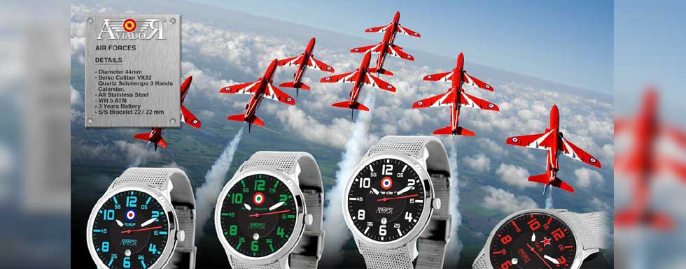 Relojes Aviador Air Forces
