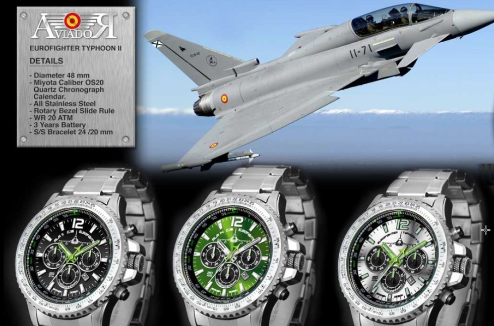 Relojes Aviador EUROFIGHTER Typhoon II