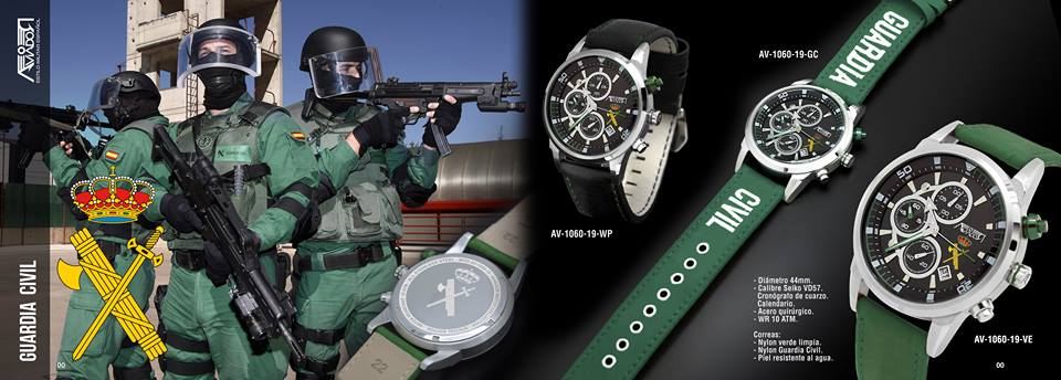 Reloj Guardia Civil. Relojes Originales de la Guardia Civil. Relojes AVIADOR Watch