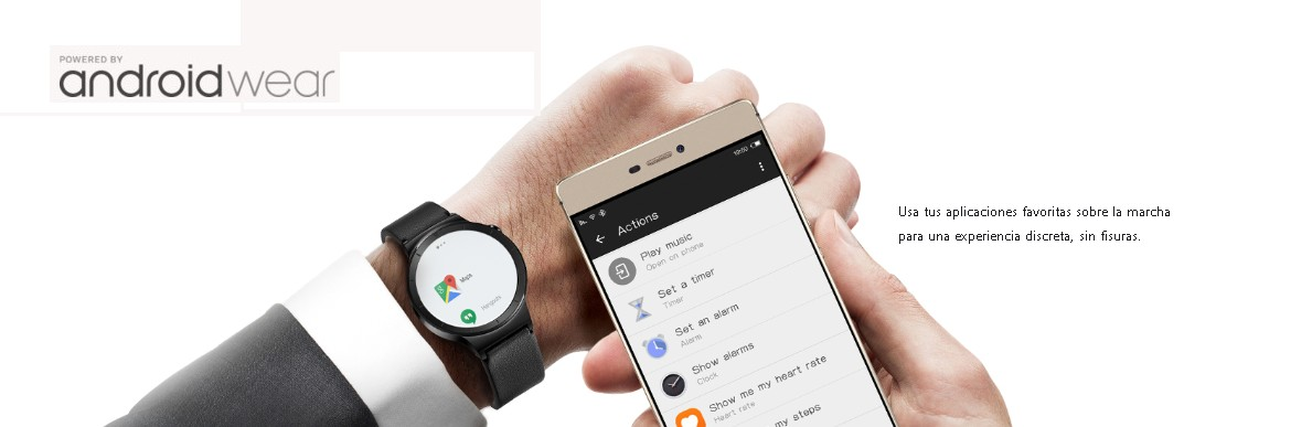 aplicaciones Android wear Reloj Aviador Huawei Watch Active HU-SKU4
