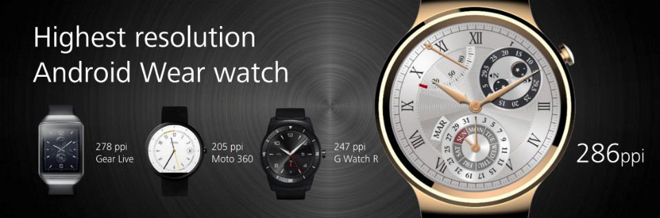 Alta resolución de pantalla Reloj Huawei Watch Active AVIADOR HU-SKU4